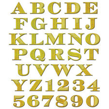 Spellbinders Shapeabilities Die: Etched Aplhabet With Numbers - S5-239