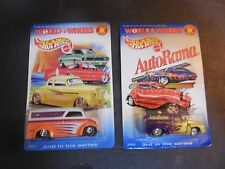 HOT WHEELS LOT World of Wheels Dairy Delivery AutoRama series 2 and 3