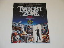 1993 BALLY TWILLIGHT ZONE  4- PAGE FLYER