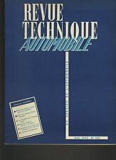 (C3B)REVUE TECHNIQUE SIMCA MONTE CARLO VENDOME / RENAULT 4CV / CITROEN 15 SIX