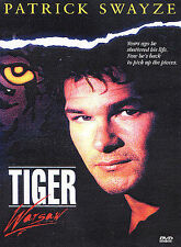 TIGER WARSAW rare dvd Troubled Vietnam Veteran PATRICK SWAYZE Piper Laurie 1980s