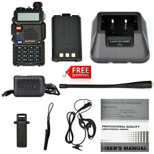 Handheld Radio Scanner 2-Way Digital Transceiver Portable EMS HAM Police Antenna