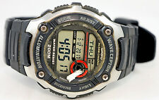 Casio WV-200A-1A Mens WAVECEPTOR Watch Digital Black Atomic Sports