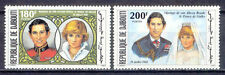 Prinzessin Diana , Lady Diana, Royal Wedding - Dschibuti - 304-305 ** MNH 1981