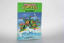 Teenage Mutant Ninja Turtles RED HERRINGS Book Junior Novel 1990