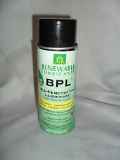 Renewable Lubricants Biodegradable Biobased Penetrating Lubricant