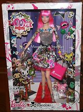 Barbie Collector Black Label 10th Anniversary Tokidoki Barbie Doll