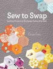Sew to Swap: Quilting Projects to Exchange Online and by Mail-ExLibrary