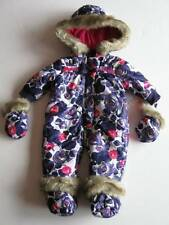 Juicy Couture Baby Girls Purple/Pink Floral Snowsuit #JCMNG185 (3-6M) NWT