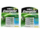 8pcs Energizer Rechargeable AAA NiMH 700 mAh Recharge Universal Battery NEW