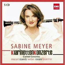 """SABINE MEYER """"KLARINETTENKONZERTE"""" 5 CD NEU"""