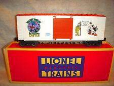 LIONEL#19264 DISNEY PERILS OF MICKEY MOUSE HI-CUBE BOXCAR WITH THE ORIGINAL BOX-