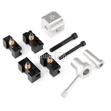 "Mini Quick Change Tool Post Set for 7x10, 7x12, 7x14"" Table/Hobby Lathes"