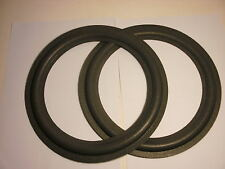 "One pair of 10"" foam surrounds for the Kenwood spkrs eg LS 44 etc. See list.."