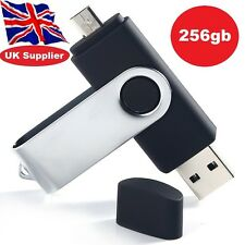 256GB OTG Flash Drive Memory Stick USB 2.0 for Android Smartphones,Tablets & PC