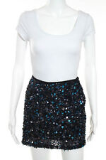 Bailey 44 Multi-Colored Embellished Beaded Sequined Print Skirt Size Medium