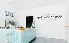 Moet Chandon Champagne Art Wall Decal Vinyl Sticker