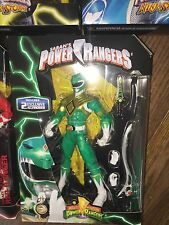 Mighty Morphin Power Rangers Legacy Collection GREEN Ranger BAF Dino Megazord