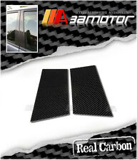Real Carbon Fiber Door Pillar Panel Decal Covers for 03-08 Nissan Z33 350Z ppe8