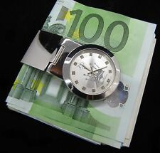 PLAYAZ*CASH*CROWN*KRONE*MONEY CLIP*GELDKLAMMER*MONEYCLIP*BLING*UHR*SELTEN RAR*MD