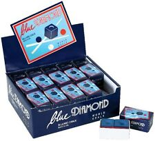 1 Bulk Box (50 Pieces) Blue Diamond Premium Longoni Pool Cue & Billiard Chalk