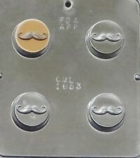 Mustache Chocolate Oreo Cookie Mold Moustache  1653 NEW