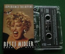 Bette Midler Experience the Divine Greatest Hits Cassette Tape - TESTED