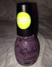 SinfulColors GLOW in the DARK Multi-Glitter Nail Polish * DEAD ON * Black Skulls