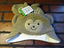 Carter's Just One You Brown BEAR Hat & Mitten Set NEW NWT Size S 0-3 Months