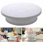 Cake Turntable 28CM Decorating Rotating Revolving Icing Display Stand Holder