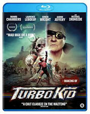 Turbo Kid NEW Cult Blu-Ray Disc François Simard Munro Chambers Laurence Leboeuf