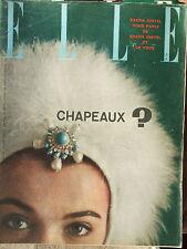 ELLE n°734 (15 janv 1960) Albert Camus - Sacha Distel - Mode : déguisements