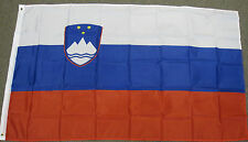 NEW 3X5 SLOVENIA FLAG 3'X5' FOOT FLAGS BANNER EU F849