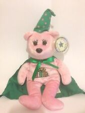 """HARRY POTTER - HERMOINIE- CELEBRITY BEAR STAR No. 90 - 11"""" BEANIE  WITH ALL TAGS"""