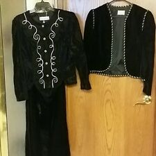 3-PIECE OUTFIT /  COSTUME  / MASQUERADE  /  HALLOWEEN PARTY  OUTFIT