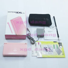 New Nintendo DS Lite HandHeld console System Pink+gifts