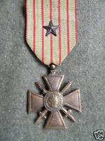 WW1 FRENCH CROIX DE GUERRE -1914-1918 REVERSE