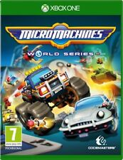 Micro Machines World Series XBOX ONE NEW PRE ORDER Sealed