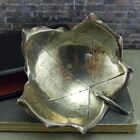 Vintage Cartier Hand Made Sterling Silver Maple Leaf Candy/ Nut Dish