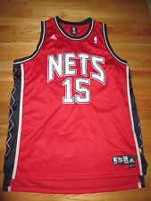 Adidas VINCE CARTER No. 15 NEW JERSEY NETS (2XL) Jersey