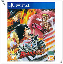PS4 One Piece Burning Blood ENG 海贼王 中文 SONY PlayStation Beat 'em Up Bandai