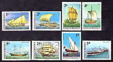 MALDIVES 1975 SAILING SHIPS SET MNH