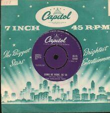 """The Kingston Trio(7"""" Vinyl)Como Se Viene Se Va/ En El Agua-Capitol-CL 1-VG/VG"""