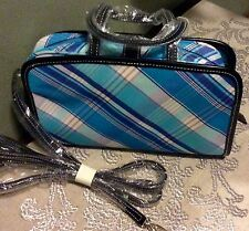 NEW!  CLASSIC CHECK PLAID MULTI-FUNCTION CROSSBODY MINI TOTE WEEKENDER  - NWT