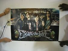 Escape The Fate Poster Band Shot Bar