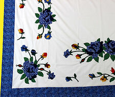 Unique Floral Hand Applique QUILT TOP - Showcase your quilting skills - Twin
