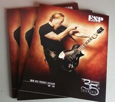 ESP Guitars 2010 Electric Bass Sales Catalog Brochure 73 Pages 35th WORLDWIDE