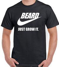Beard - Just Grow It - Mens Funny T-Shirt