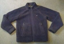 Men's HOLLISTER Sherpa Frosty Thick Deep Pile Full Zip Brown Jacket True Grit  M