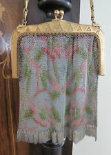 Beautiful Antique Whiting and Davis Mesh Purse